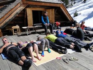 Sonnenterrasse Landecker Schihütte